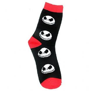 Nightmare Before Christmas Ankle Socks Size UK 4-7